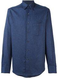 рубашка с нагрудным карманом Ermenegildo Zegna