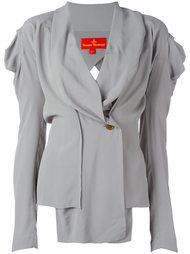драпированная блузка с V-образным вырезом Vivienne Westwood Red Label