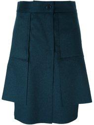 асимметричная юбка со складками Vivienne Westwood Red Label