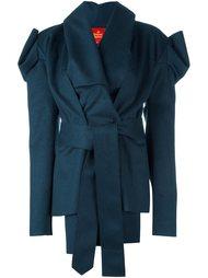 асимметричное пальто с поясом Vivienne Westwood Red Label