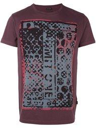 футболка с абстрактным принтом Marc Jacobs
