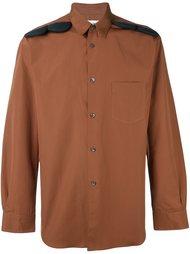 рубашка с аппликацией на плечах Comme Des Garçons Shirt