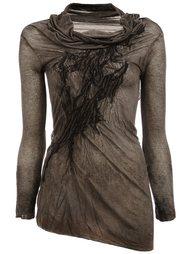 асимметричная блузка  Masnada
