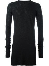 удлиненный свитер  Rick Owens