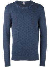 жаккардовый свитер с круглым вырезом   Eleventy