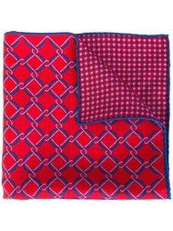 двухсторонний нагрудный платок  Kiton