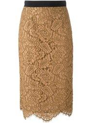 кружевная юбка-карандаш Marco Bologna