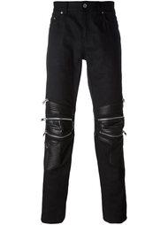 джинсы в байкерском стиле Saint Laurent
