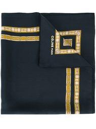платок с цепочным узором Céline Vintage