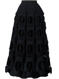 юбка с перфорированным дизайном  Junya Watanabe Comme Des Garçons