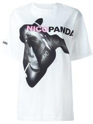 футболка с принтом 'Nicopanda Centered'  Nicopanda