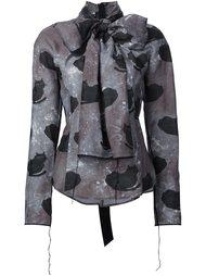 блузка с узором в виде кошек Marc Jacobs