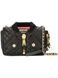 стеганая сумка на плечо  Moschino