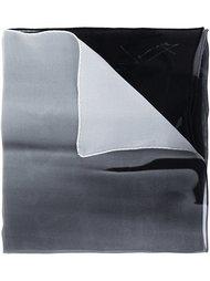 шарф с градиентным принтом Yohji Yamamoto