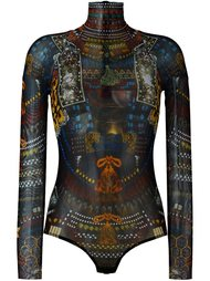 боди 'Samurai Tattoo'  Dsquared2 Underwear