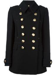 пальто в стиле милитари Burberry