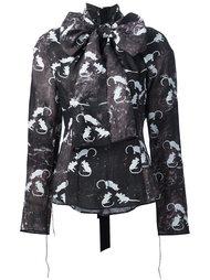 блузка с узором в виде мышей Marc Jacobs