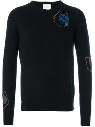 свитер с вышивкой Iceberg
