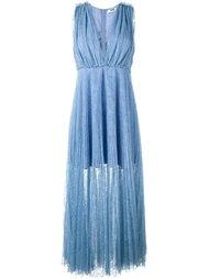 плиссированное платье MSGM