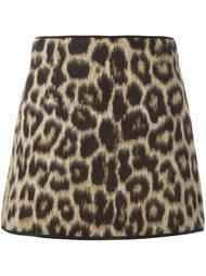 юбка с леопардовым принтом Nº21