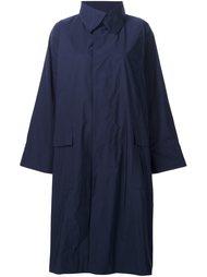 пальто с потайной застежкой Issey Miyake