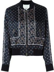 атласная куртка бомбер с узором 3.1 Phillip Lim