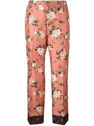 брюки с цветочным принтом  For Restless Sleepers