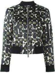 куртка бомбер с узором Dsquared2