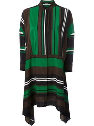 полосатое платье-рубашка Neil Barrett