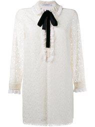 кружевное платье с длинными рукавами Philosophy Di Lorenzo Serafini