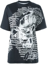 футболка с принтом 'Nicopanda Negative' Nicopanda