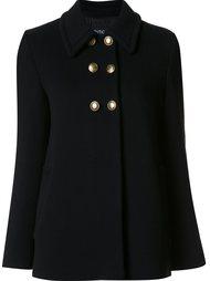 двубортное пальто Boutique Moschino