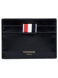 кошелек с логотипом бренда Thom Browne