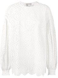 объемная блузка с вырезными деталями Zimmermann