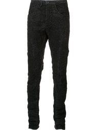 брюки с потертой отделкой Label Under Construction