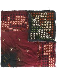 шарф с абстрактным узором Faliero Sarti