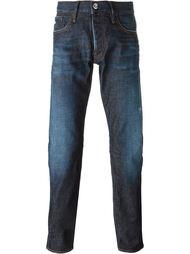 выбеленные джинсы  Emporio Armani