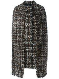 пальто с шарфом  Dolce & Gabbana