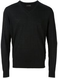 свитер c V-образным вырезом   Z Zegna