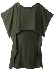 драпированное платье Mm6 Maison Margiela