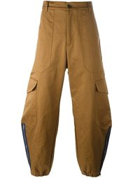 широкие брюки карго Barena