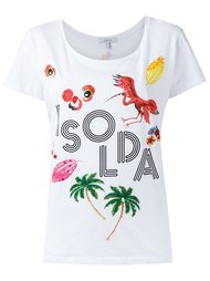embelished T-shirt Isolda