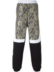 спортивные брюки с кружевной вставкой Astrid Andersen