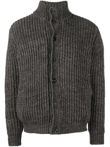 куртка-бомбер вязки косичкой Roberto Collina
