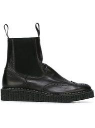 ботинки в стиле брог  Yohji Yamamoto