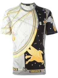футболка с принтом Versace