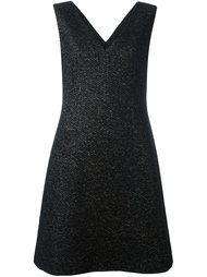 платье c V-образным вырезом  Agnona