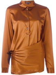 блузка с асимметричным подолом Ann Demeulemeester