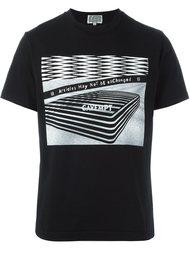 футболка с абстрактным принтом   C.E.