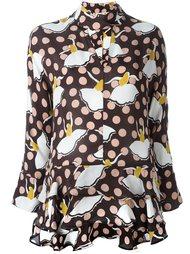 блузка с узором Marni
